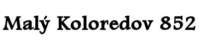 Malý Koloredov 852 logo